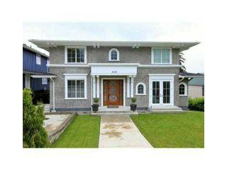 Photo 1: 1218 GORDON AV in West Vancouver: Ambleside House for sale : MLS®# V1047508