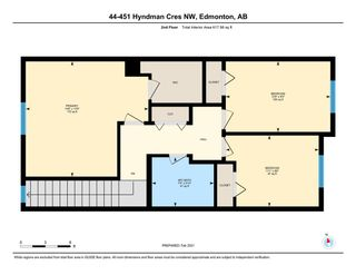 Photo 37: 44 451 HYNDMAN Crescent in Edmonton: Zone 35 Townhouse for sale : MLS®# E4230416
