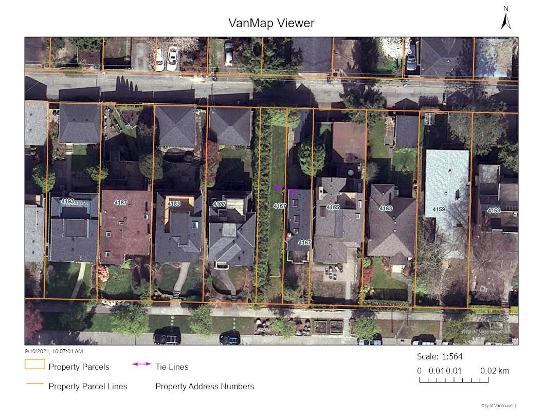 Main Photo: 4167 W 11TH Avenue in Vancouver: Point Grey Land for sale (Vancouver West)  : MLS®# R2617069