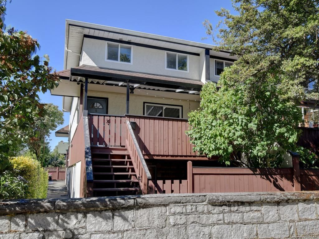 Main Photo: 5 954 Queens Ave in : Vi Central Park Row/Townhouse for sale (Victoria)  : MLS®# 845721