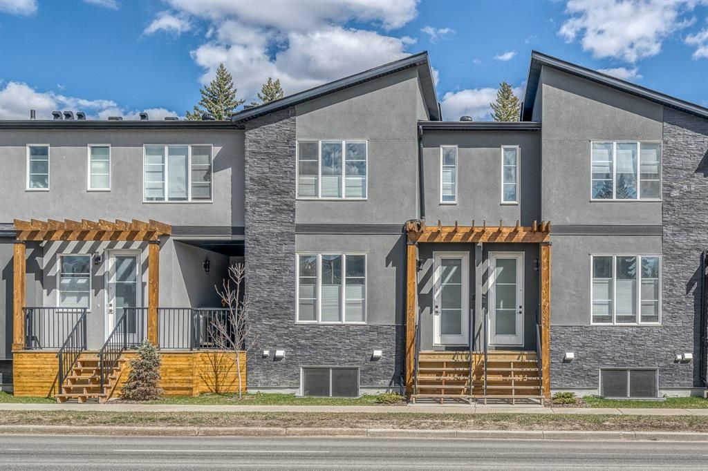 Main Photo: 1960 19 Street NW in Calgary: Banff Trail Row/Townhouse for sale : MLS®# A1099152