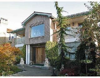 Photo 1: 2326 OLIVER in Vancouver: Arbutus House for sale (Vancouver West)  : MLS®# V753023