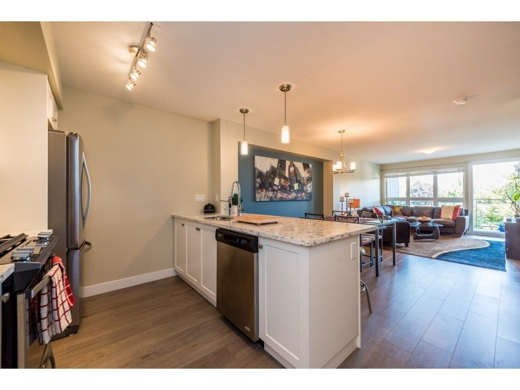 "Main Photo: 308 4815 55B Street in Ladner: Hawthorne Condo for sale in ""THE POINTE"" : MLS®# R2466167"