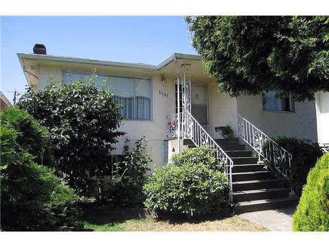 Main Photo: 5391 Dumfries St, in Vancouver: Knight House for sale (Vancouver East)  : MLS®# V1019217