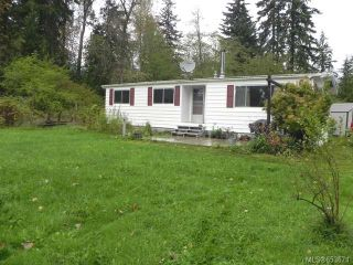 Photo 1: 2278 Endall Rd in BLACK CREEK: CV Merville Black Creek Manufactured Home for sale (Comox Valley)  : MLS®# 653671