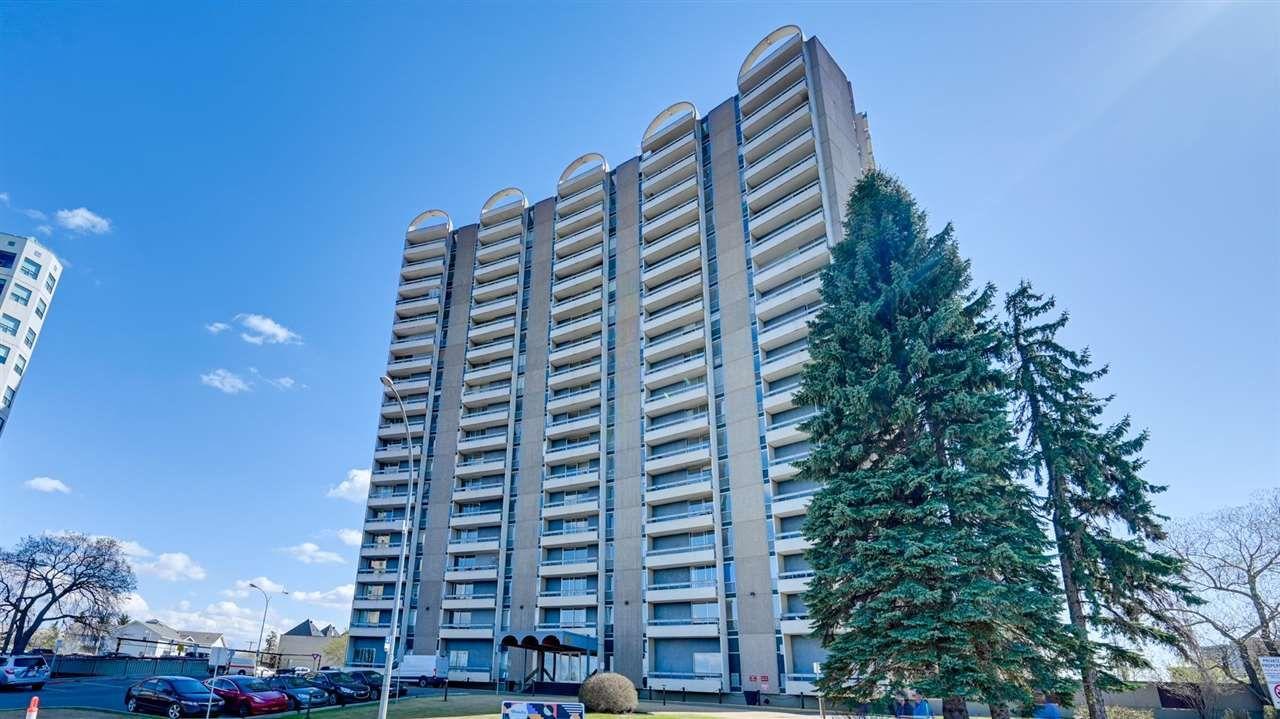 Main Photo: 811 10883 Saskatchewan Drive in Edmonton: Condo for sale