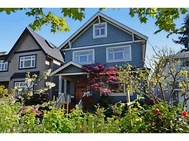 """Main Photo: 132 E 19TH Avenue in Vancouver: Main House for sale in """"MAIN STREET"""" (Vancouver East)  : MLS®# V1117440"""