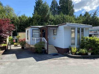 """Photo 1: 13 4200 DEWDNEY TRUNK Road in Coquitlam: Ranch Park Manufactured Home for sale in """"HIDEAWAY PARK"""" : MLS®# R2475292"""