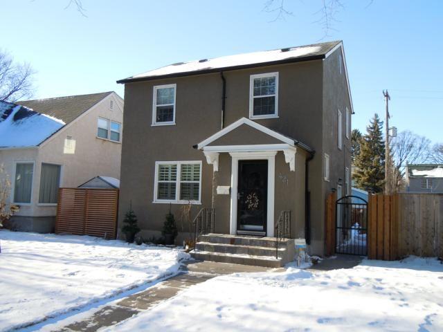 Main Photo: 421 Niagara Street in WINNIPEG: River Heights / Tuxedo / Linden Woods Single Family Detached  (South Winnipeg)  : MLS®# 1200194