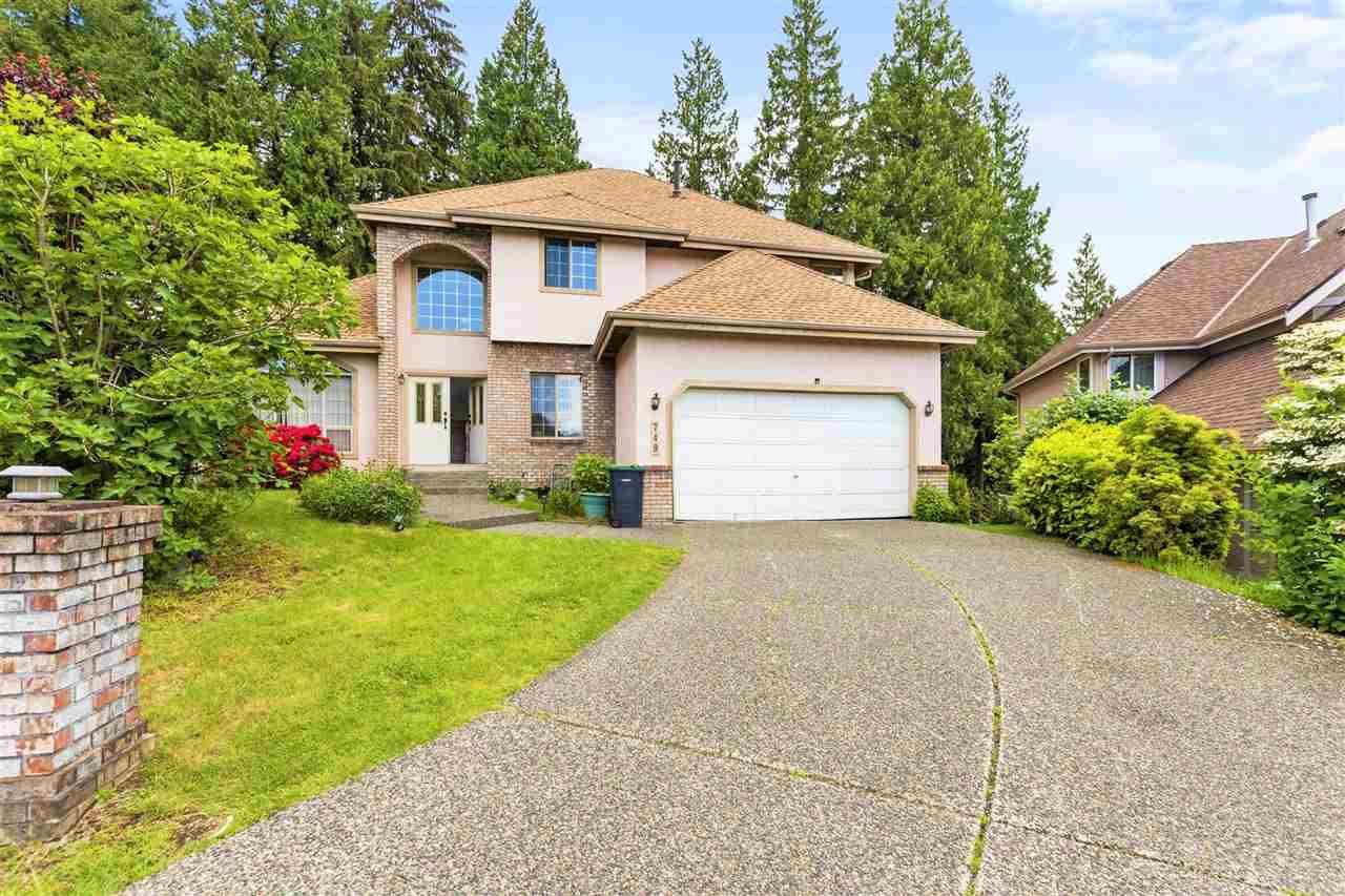 This Bright Southeast facing home is situated in a Quiet Cul-De-Sac just steps away from Riverview Park. It's Nestling in the most Desirable location of East Coquitlam surrounded by Beautiful Large Custom Built Homes.