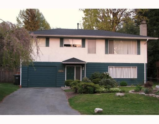 Main Photo: 3534 CARLISLE Street in Port_Coquitlam: Woodland Acres PQ House for sale (Port Coquitlam)  : MLS®# V764174
