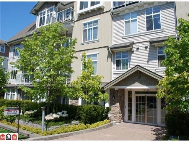 "Main Photo: 103 15323 17A Avenue in Surrey: King George Corridor Condo for sale in ""Semiahmoo Place"" (South Surrey White Rock)  : MLS®# F1115538"