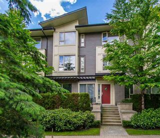 """Photo 1: 107 9229 UNIVERSITY Crescent in Burnaby: Simon Fraser Univer. Townhouse for sale in """"Serenity"""" (Burnaby North)  : MLS®# R2377262"""
