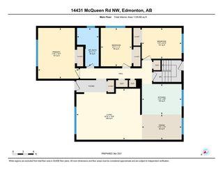 Photo 4: 14431 McQueen Road in Edmonton: Zone 21 House Half Duplex for sale : MLS®# E4233977