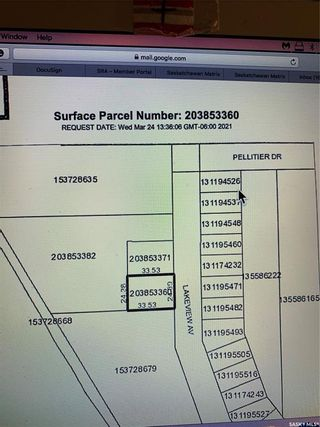 Photo 1: LOT AT MORIN LAKE in Canwood: Lot/Land for sale (Canwood Rm No. 494)  : MLS®# SK846709