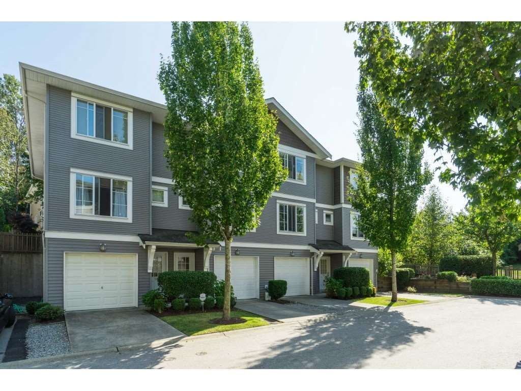 "Main Photo: 73 15155 62A Avenue in Surrey: Sullivan Station Townhouse for sale in ""Oaklands"" : MLS®# R2394046"