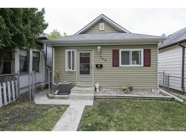 Main Photo: 369 Inglewood Street in WINNIPEG: St James Residential for sale (West Winnipeg)  : MLS®# 1320834
