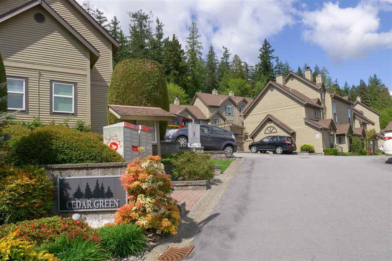 "Main Photo: 20 2736 ATLIN Place in Coquitlam: Coquitlam East Townhouse for sale in ""CEDAR GREEN"" : MLS®# R2574412"