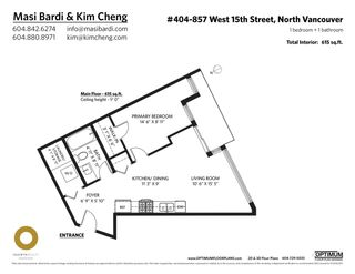 """Photo 14: 404 857 W 15TH Street in North Vancouver: Mosquito Creek Condo for sale in """"The Vue"""" : MLS®# R2593437"""