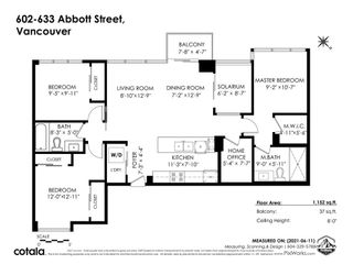 Photo 31: 602 633 ABBOTT STREET in Vancouver: Downtown VW Condo for sale (Vancouver West)  : MLS®# R2599395