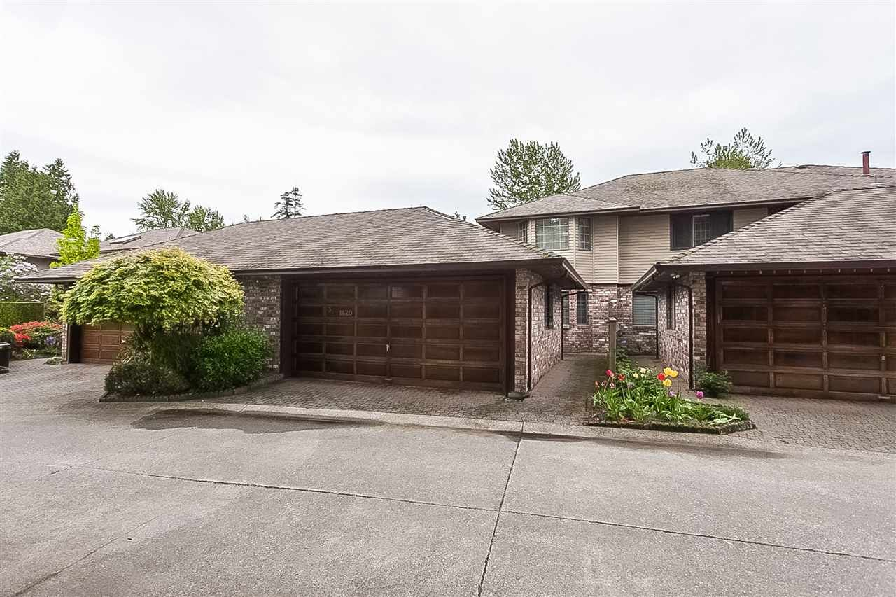 """Main Photo: 3 1620 148 Street in Surrey: Sunnyside Park Surrey Townhouse for sale in """"ENGLESEA COURT"""" (South Surrey White Rock)  : MLS®# R2429994"""