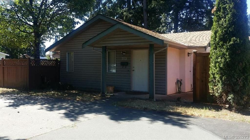 Main Photo: A 703 Kelly Rd in VICTORIA: Co Hatley Park Half Duplex for sale (Colwood)  : MLS®# 792347