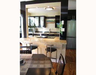 """Photo 5: E3 1070 W 7TH Avenue in Vancouver: Fairview VW Townhouse for sale in """"FALSE CREEK TERRACE"""" (Vancouver West)  : MLS®# V654865"""