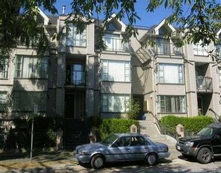 Photo 1: 3167 LAUREL ST in Vancouver: Fairview VW Townhouse for sale (Vancouver West)  : MLS®# V609907