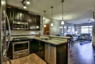 """Photo 3: 414 8067 207 Street in Langley: Willoughby Heights Condo for sale in """"Yorkson Creek Parkside One"""" : MLS®# R2214873"""