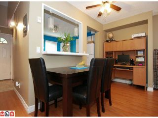"""Photo 3: 214 13628 67TH Avenue in Surrey: East Newton Townhouse for sale in """"HYLAND CREEK ESTATES"""" : MLS®# F1015063"""
