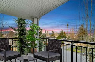 """Photo 1: 601 4025 NORFOLK Street in Burnaby: Central BN Townhouse for sale in """"NORFOLK TERRACE"""" (Burnaby North)  : MLS®# R2536428"""