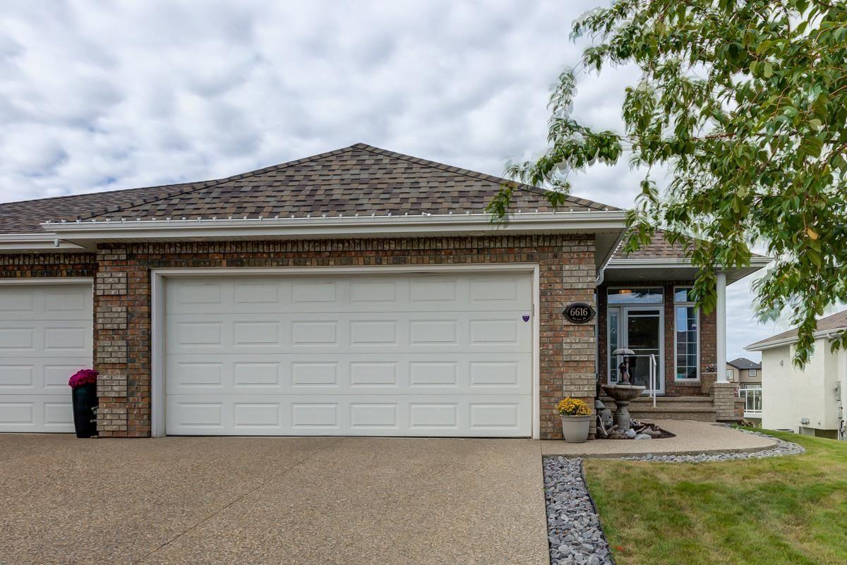 Main Photo: 6616 SANDIN Cove in Edmonton: Zone 14 House Half Duplex for sale : MLS®# E4264577