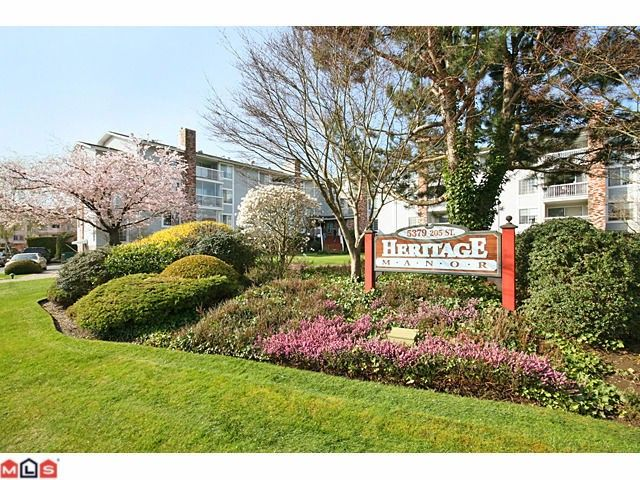 """Main Photo: 223 5379 205TH Street in Langley: Langley City Condo for sale in """"HERITAGE MANOR"""" : MLS®# F1007495"""