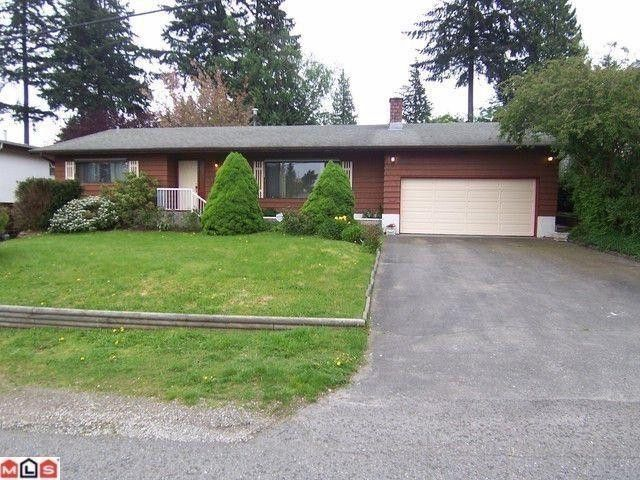 Main Photo: 2510 MAGNOLIA in Abbotsford: Abbotsford West House for sale : MLS®# F1011272