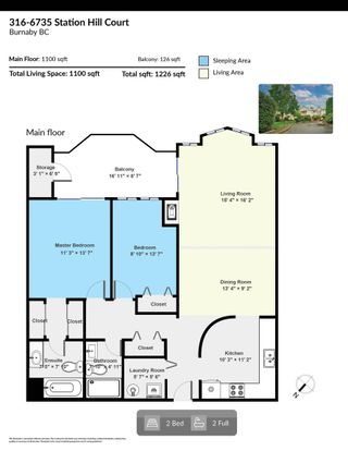 """Photo 32: 316 6735 STATION HILL Court in Burnaby: South Slope Condo for sale in """"COURTYARDS"""" (Burnaby South)  : MLS®# R2615271"""