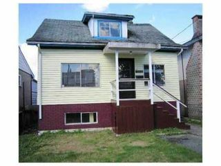 Main Photo: 4959 MOSS Street in Vancouver: Collingwood VE House for sale (Vancouver East)  : MLS®# V912183