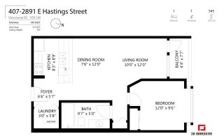 """Photo 22: 407 2891 E HASTINGS Street in Vancouver: Hastings Sunrise Condo for sale in """"Park Renfrew"""" (Vancouver East)  : MLS®# R2517995"""