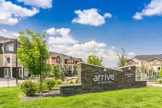 Photo 2: 308 Redstone View NE in Calgary: Redstone Row/Townhouse for sale : MLS®# A1130572