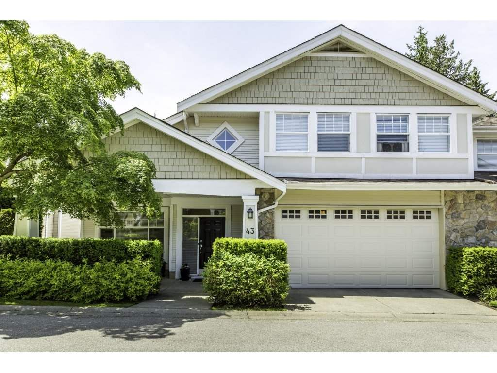 Main Photo: 43 3500 144 STREET in Surrey: Elgin Chantrell Townhouse for sale (South Surrey White Rock)  : MLS®# R2174759