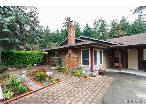 Main Photo: A 3307 Metchosin Rd in VICTORIA: Co Lagoon Half Duplex for sale (Colwood)  : MLS®# 684742