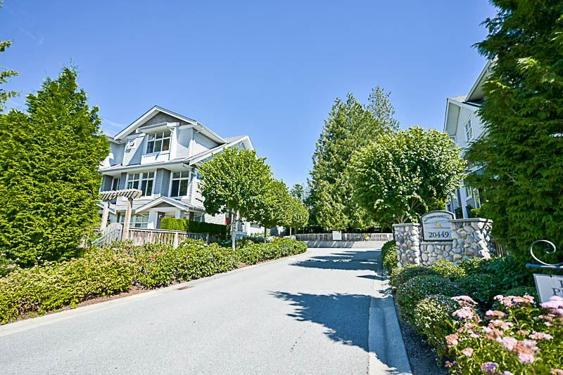 "Main Photo: 35 20449 66 Avenue in Langley: Willoughby Heights Townhouse for sale in ""Nature's Landing"" : MLS®# R2185731"
