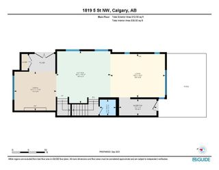 Photo 39: 1819 5 Street NW in Calgary: Mount Pleasant Semi Detached for sale : MLS®# A1147804