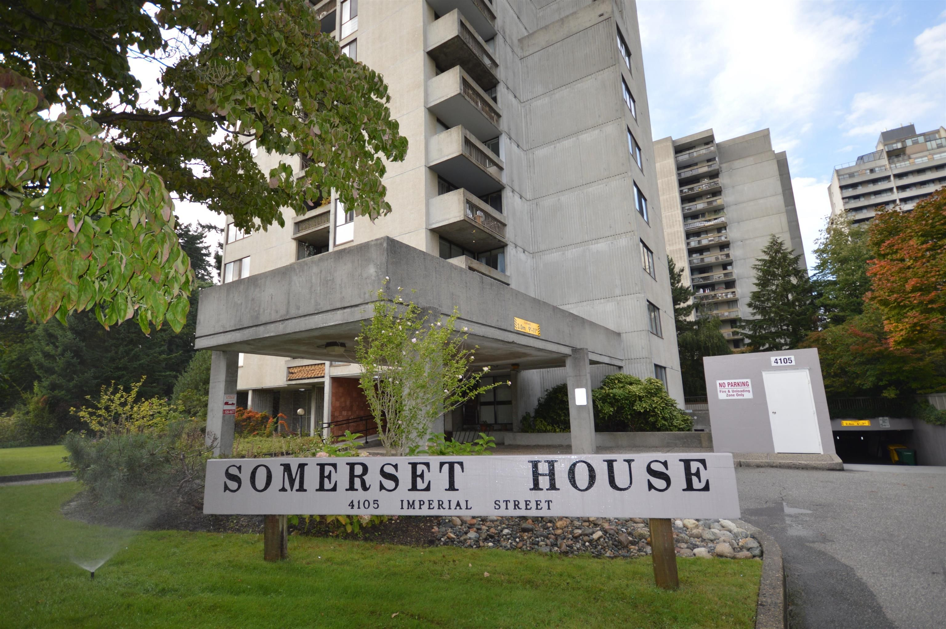 """Main Photo: 605 4105 IMPERIAL Street in Burnaby: Metrotown Condo for sale in """"Somerset House"""" (Burnaby South)  : MLS®# R2615663"""