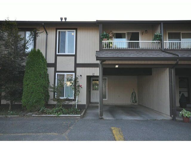 Main Photo: 12 32870 BEVAN WAY in : Central Abbotsford Townhouse for sale : MLS®# F1421273