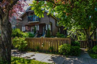 Photo 1: 1 1130 E 14TH AVENUE in Vancouver: Mount Pleasant VE Townhouse for sale (Vancouver East)  : MLS®# R2470688