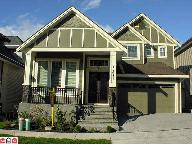 Main Photo: 14681 62A AVENUE in Surrey: Sullivan Station House for sale ()  : MLS®# F1203033