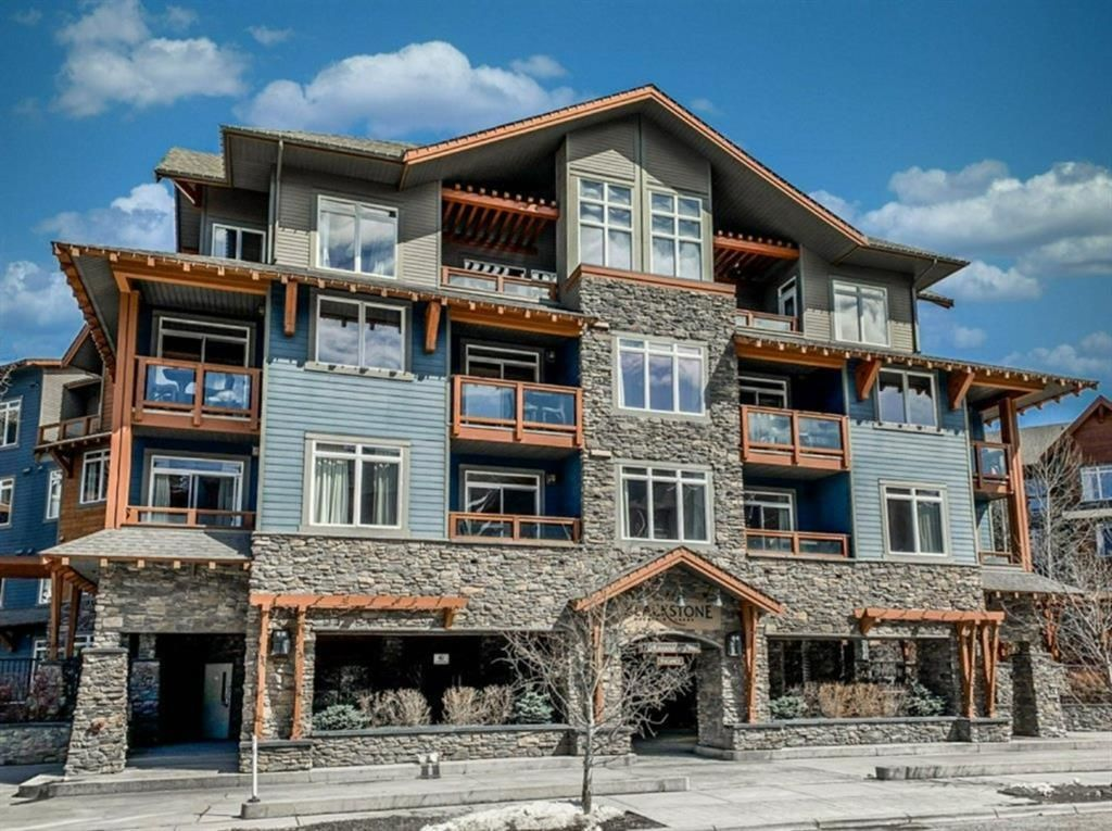 Main Photo: 220 170 Kananaskis Way: Canmore Apartment for sale : MLS®# A1047464