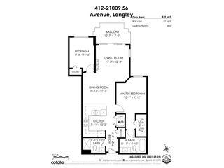 "Photo 28: 412 21009 56 Avenue in Langley: Langley City Condo for sale in ""CORNERSTONE"" : MLS®# R2622421"