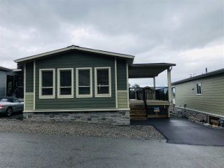"Main Photo: 97 53480 BRIDAL FALLS Road in Rosedale: Rosedale Popkum Manufactured Home for sale in ""Bridal Falls Cottages & RV Park"" : MLS®# R2470899"
