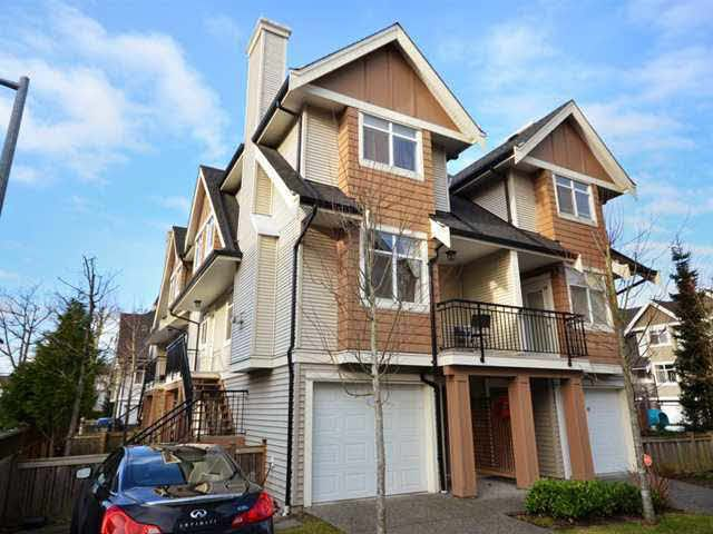 Main Photo: 7 7360 HEATHER Street in Richmond: McLennan North Townhouse for sale : MLS®# V925927